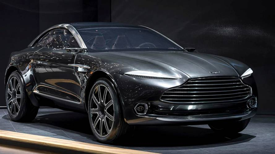 Aston Martin DBX SUV Production Confirmed For 2019