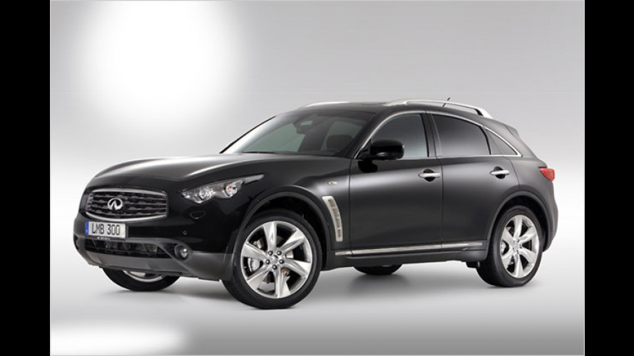 Infiniti gibt Preise des FX Diesel bekannt