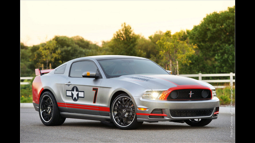 Update: Mustang Red Tails Edition versteigert