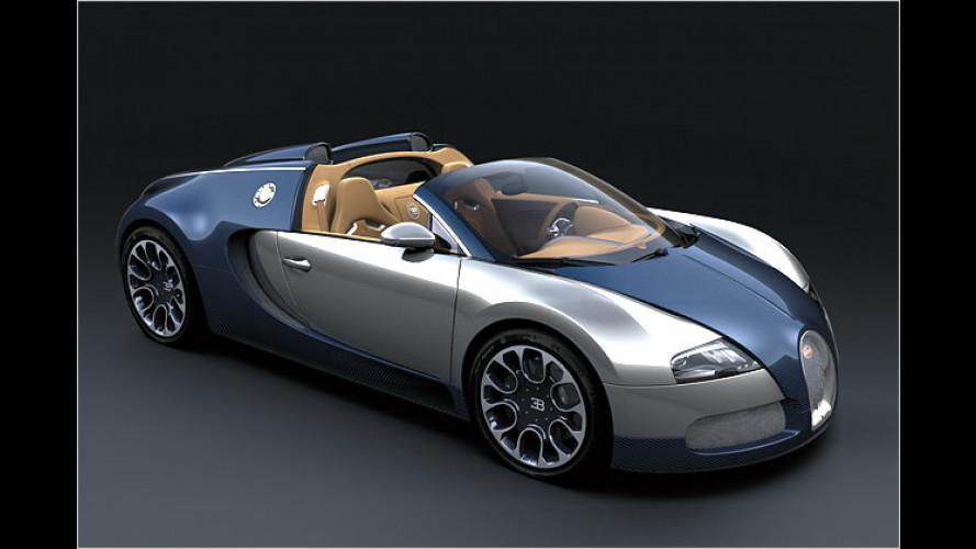 Blaues Wunder: Bugatti zeigt exklusives Sondermodell