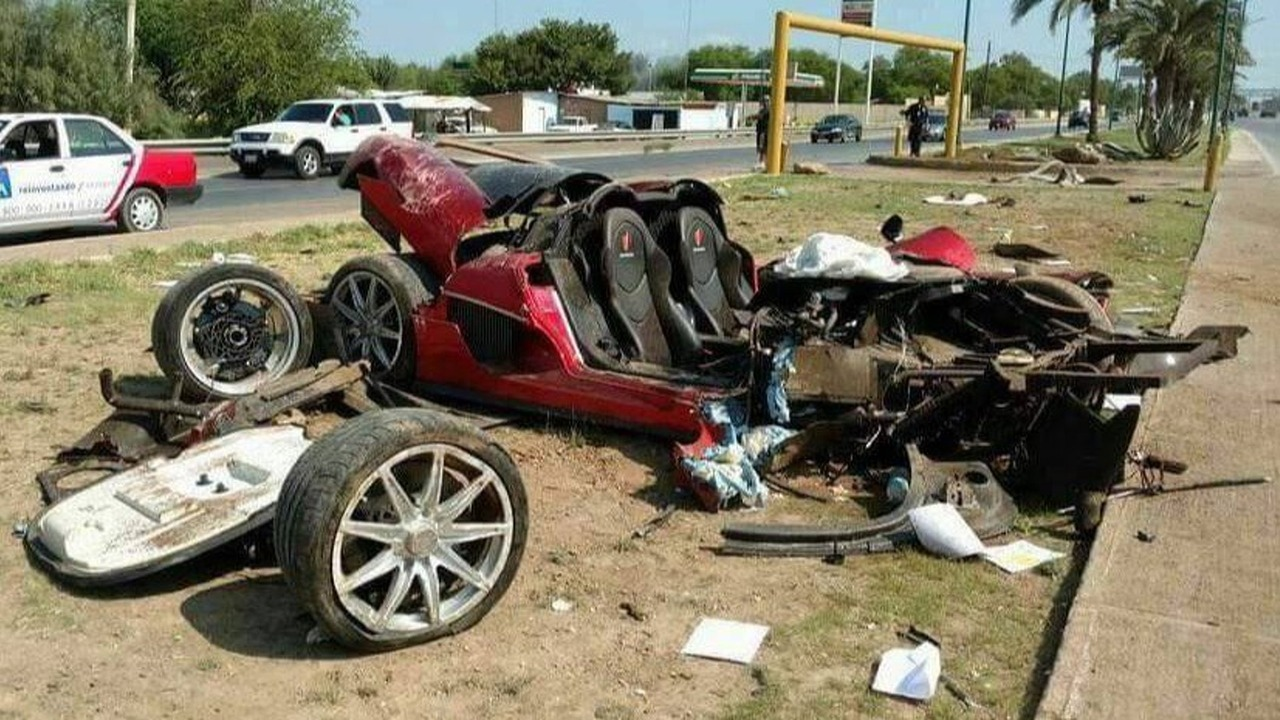 Koenigsegg CCX - Mexico crash