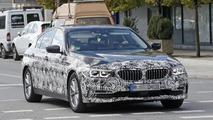 2017 BMW 5 Series Sedan spy photo