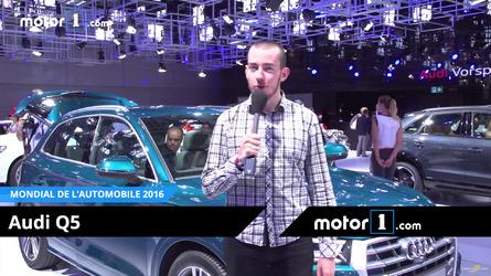 VIDÉO - Découvrez le nouvel Audi Q5 au Mondial de Paris !
