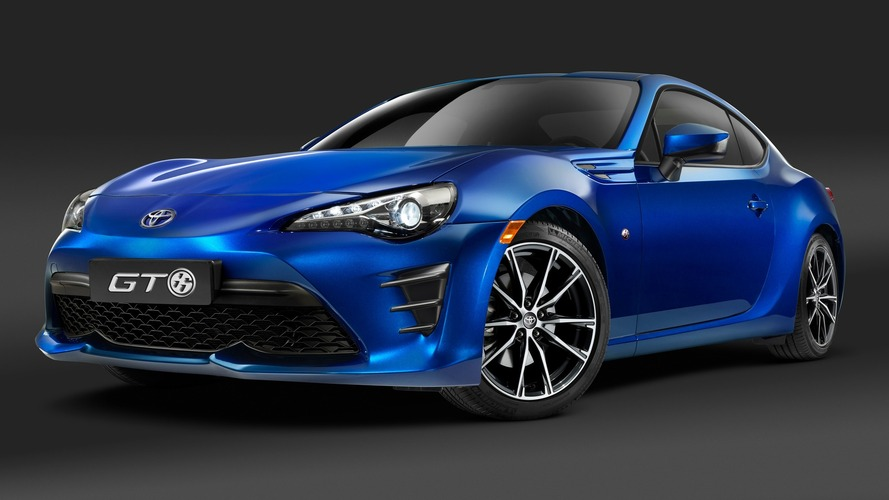 Plus qu'un simple lifting pour la Toyota GT86