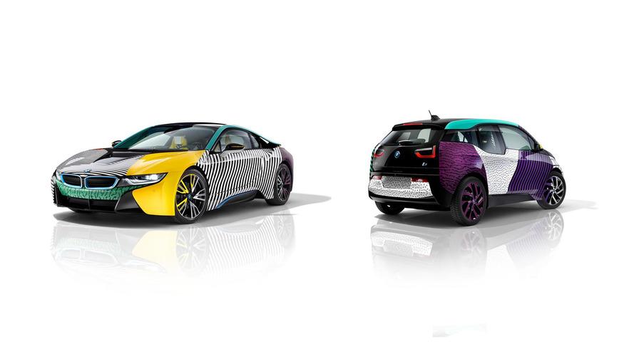 Bu BMW i3 ve i8 gözlerinizi kanatacak