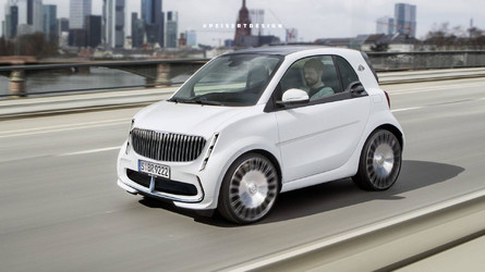 Smart Maybach By Peisert Design Is Electric, Luxurious, And Tiny