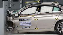 2017 BMW 5 Series IIHS test