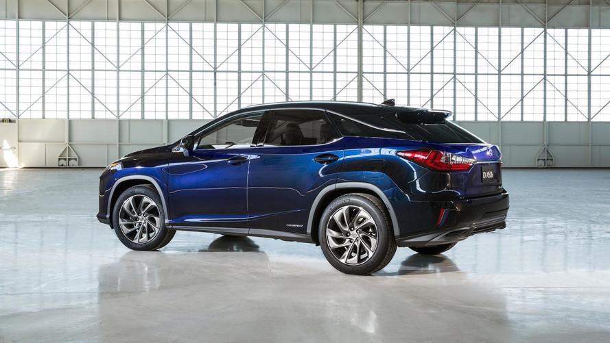 7 koltuklu Lexus RX Tokyo Otomobil Fuarı'nda tanıtılabilir