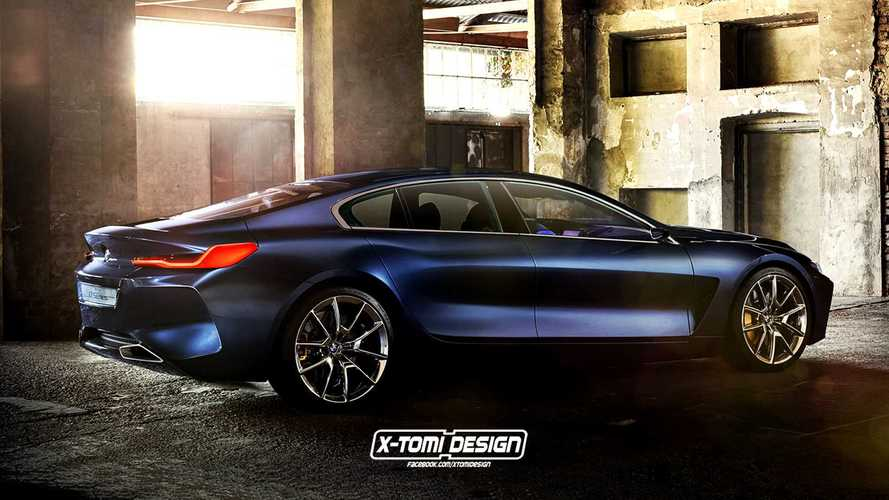 Nos imaginamos los BMW Serie 8 Gran Coupé, Shooting Brake y Pick-Up