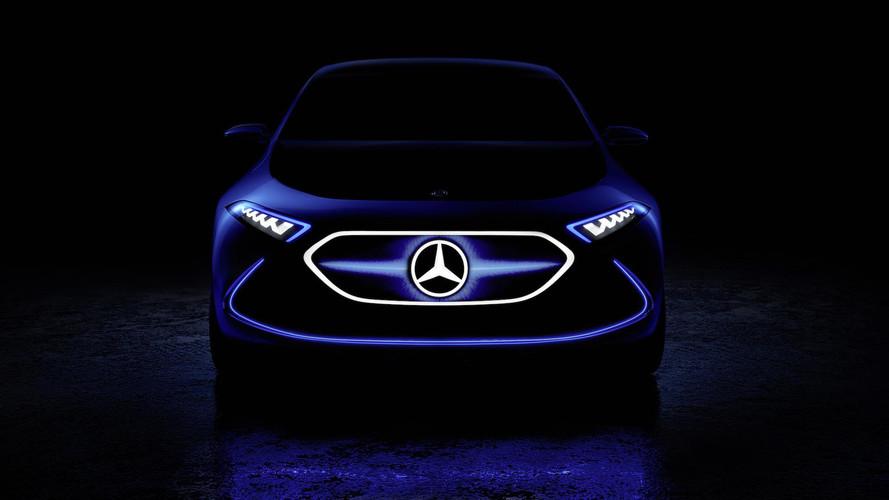 Újabb fotón mutatja magát a Mercedes EQ A tanulmány