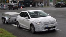 Possible 2019 Skoda Rapid test mule spy photo