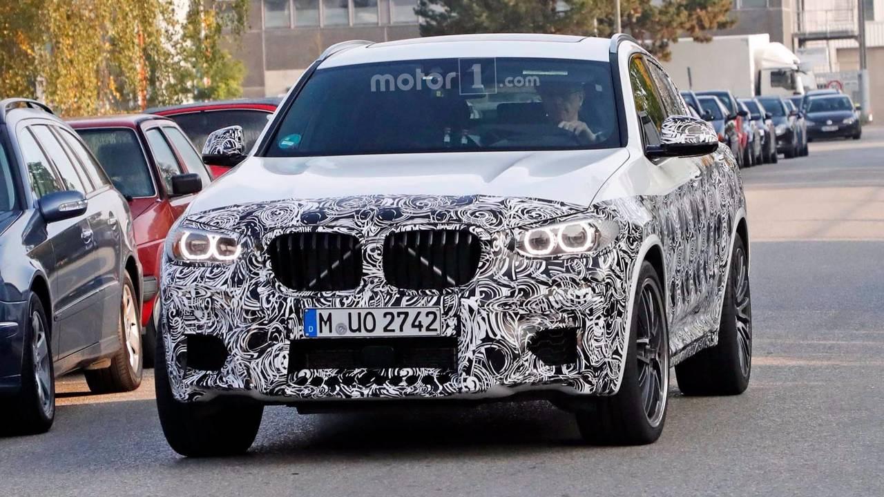 BMW X4 M 2019 fotos espía