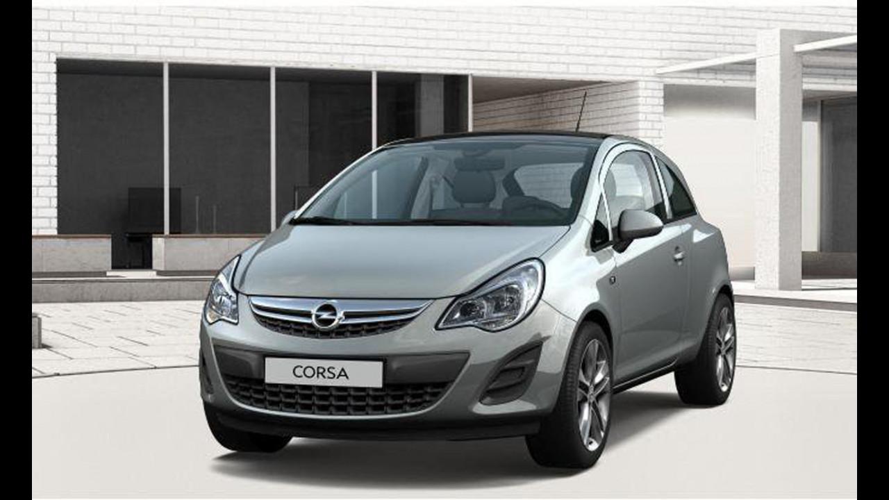 Opel Corsa restyling: prime immagini