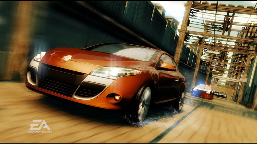Renault Megane Coupé in Need For Speed Undercover