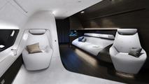 Lufthansa Technik interior by Mercedes-Benz Style