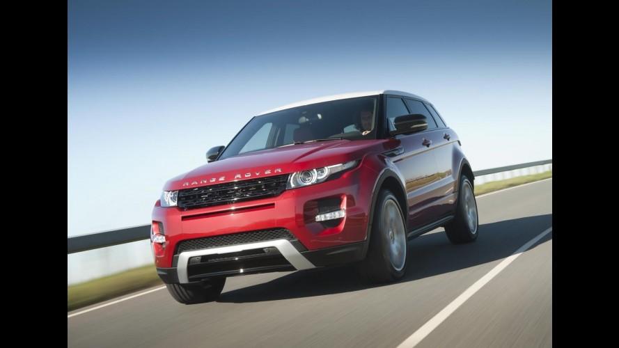 Land Rover pensa em uma versão esportiva para o Range Rover Evoque
