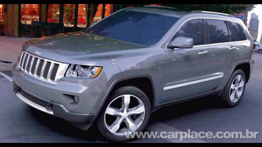 Chrysler irá mostrar o novo visual do Jeep Grand Cherokee 2011 em Nova York