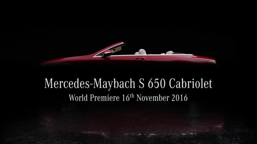 VIDÉO - Mercedes-Maybach tease avant la présentation de son futur cabriolet