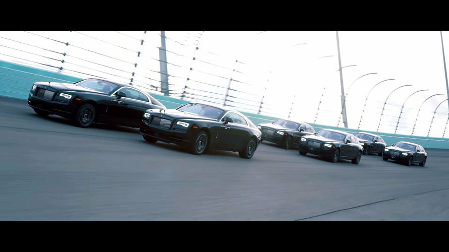 VIDÉO - Rolls Royce, essais exclusifs des Black Badge sur circuit