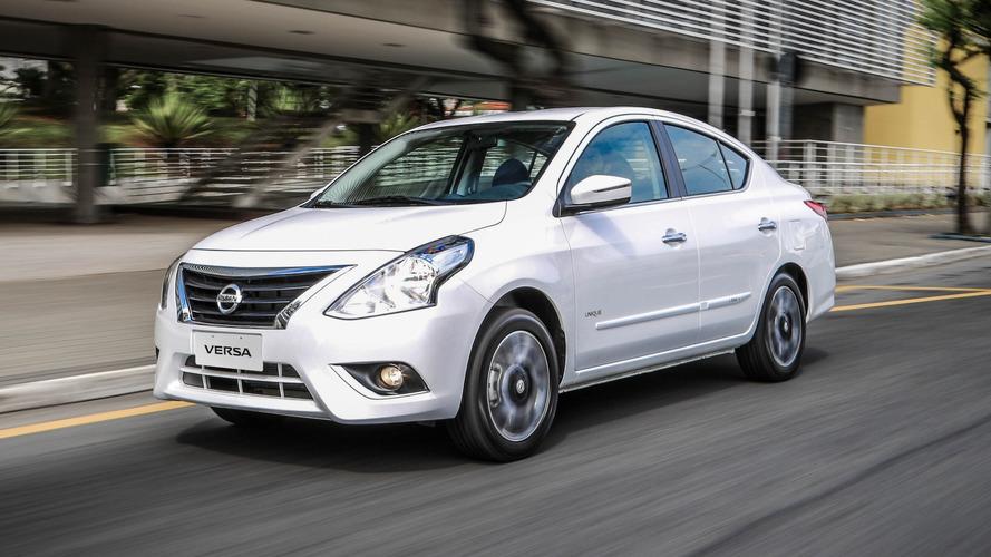 Nissan Versa é oferecido com bônus de R$ 2 mil em ação promocional