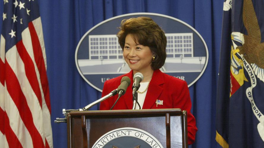 Elaine Chao becomes new U.S. Secretary of Transportation