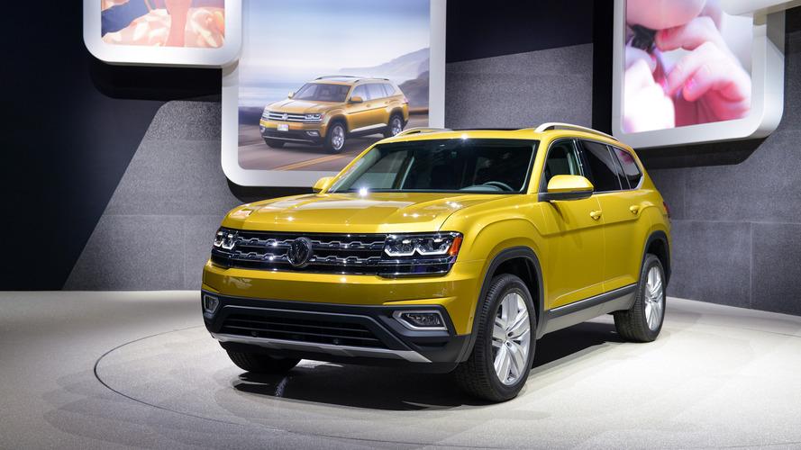 VW'nin yeni SUV'si Atlas Los Angeles'ta