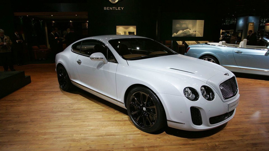 bentley continental supersports to cost 273 295. Black Bedroom Furniture Sets. Home Design Ideas