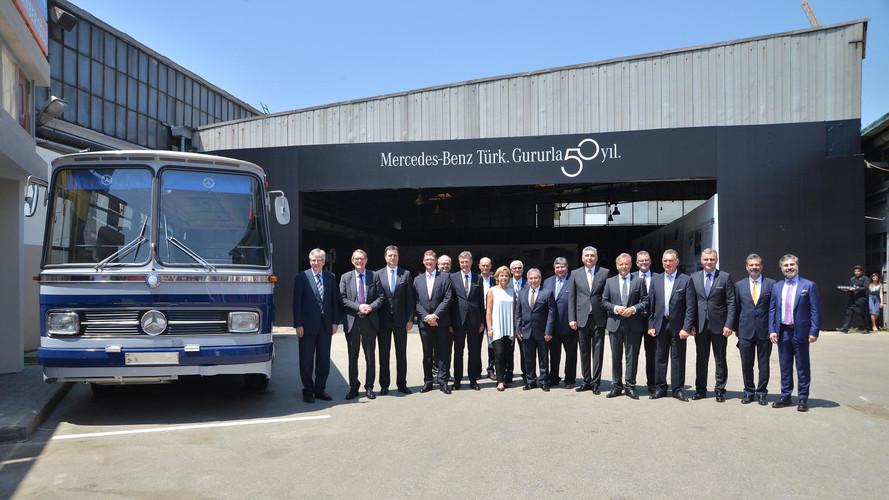 Otomarsan'dan Mercedes-Benz Türk'e 50 yıl