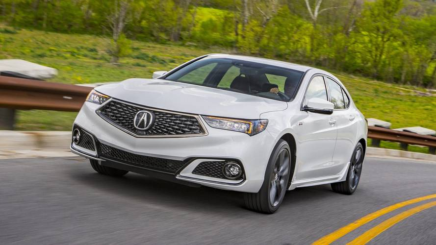2019 Acura TLX Expands A-Spec Trim To Four-Cylinder Models