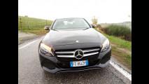Mercedes C350e Station Wagon, test di consumo reale Roma-Forlì 028