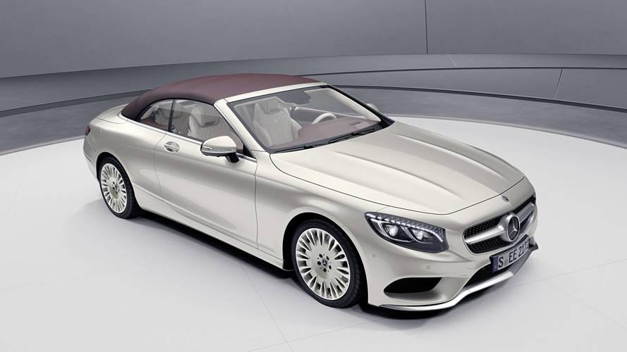 Genève 2018 - Mercedes dévoile les Classe S Coupé et Cabriolet Exclusive Edition