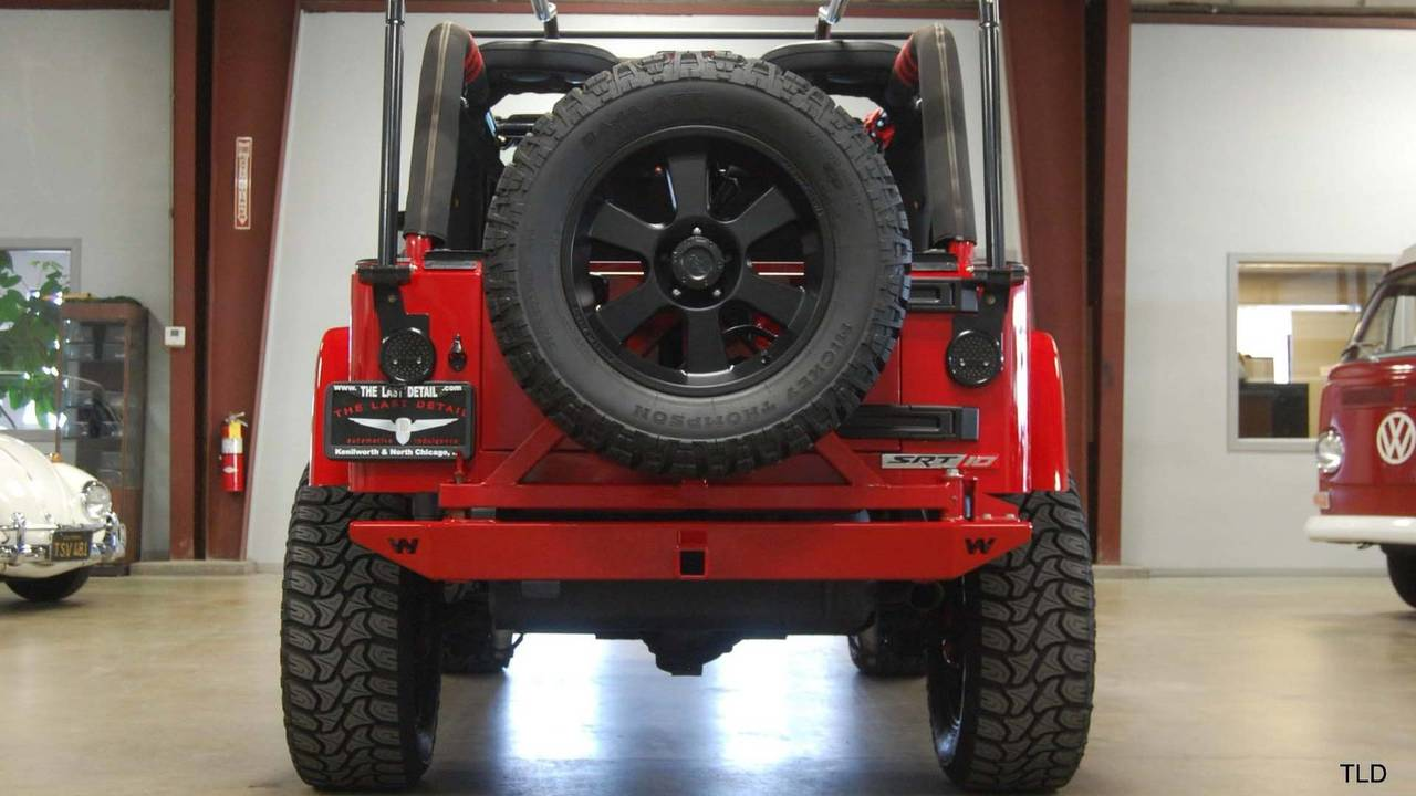 Viper Powered Jeep Wrangler