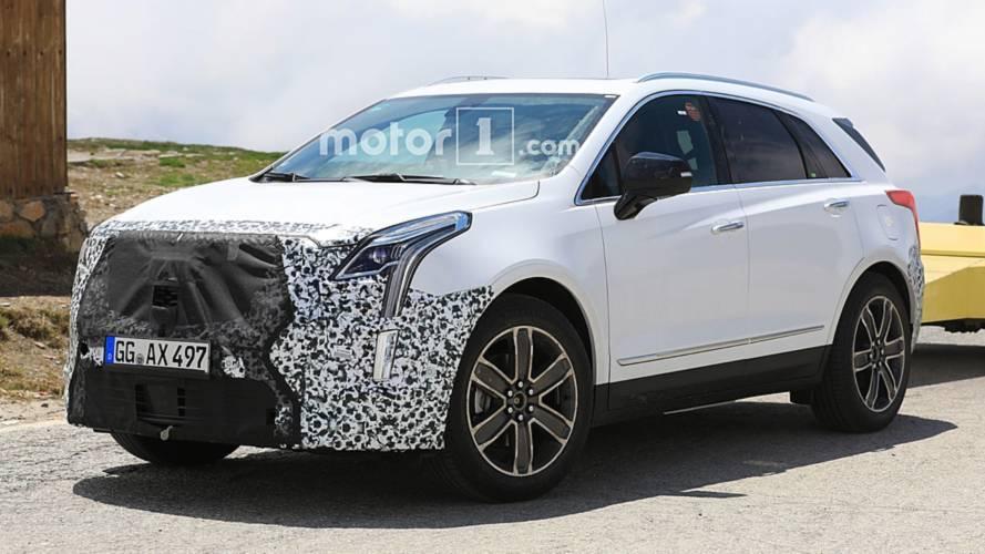 Cadillac, makyajlı XT5'i hâlâ test ediyor