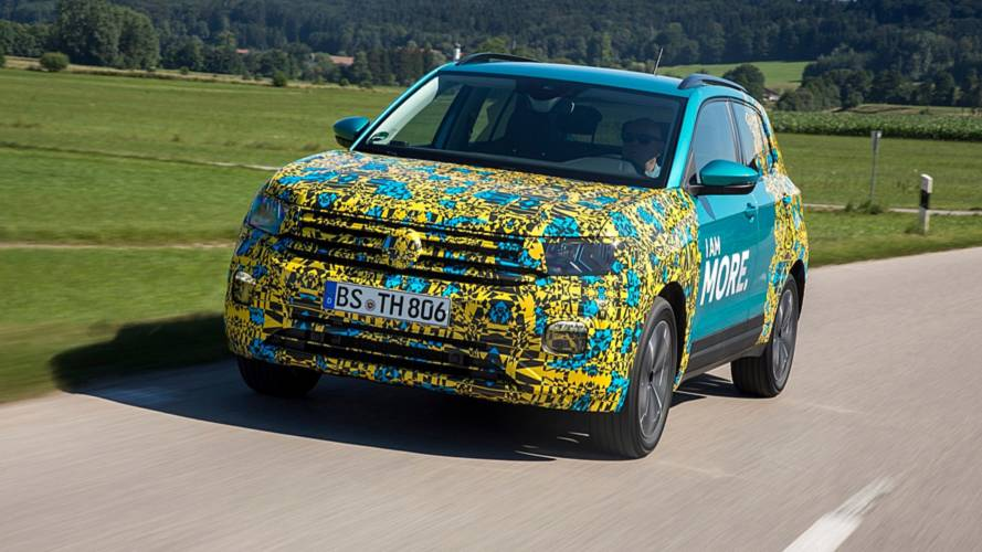 VW T-Cross: Abmessungen, Marktstart, Kofferraumvolumen