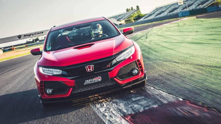 Honda Civic Type R 2018: récord en Magny-Cours