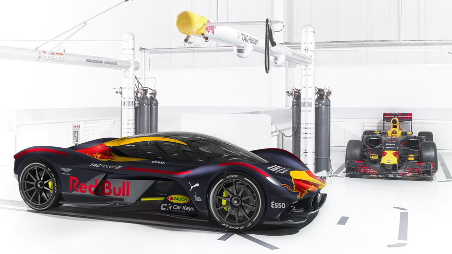 Check Out The 2017 F1 Paint Jobs On Their Production Counterparts