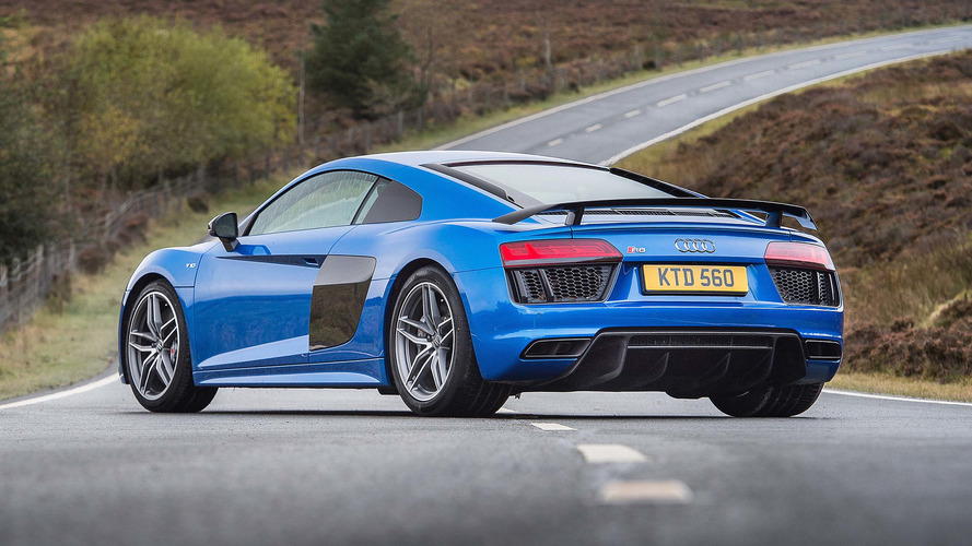 Deliveries are about to start on the rear-drive Audi R8
