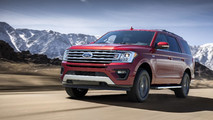 2018 Ford Expedition FX4 PR photos
