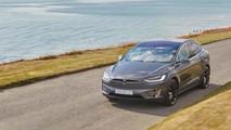 Tesla Model X First Drive