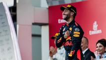 Daniel Ricciardo podium