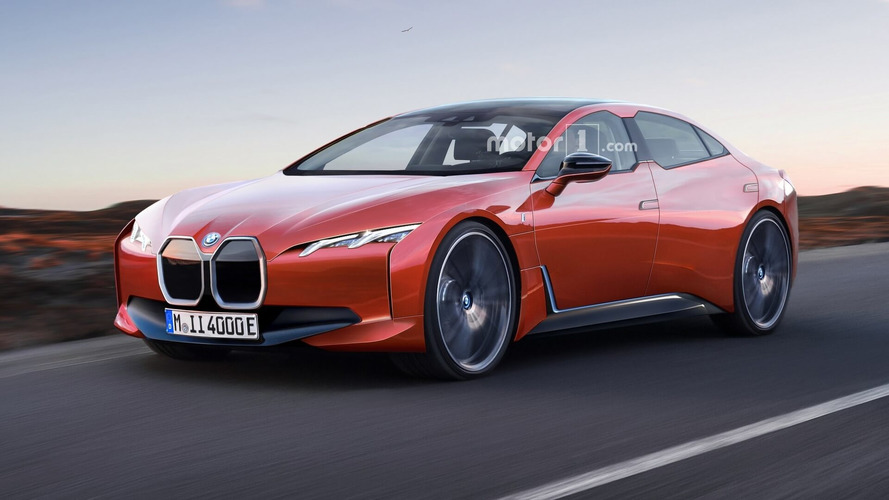 BMW i4 Rendered As Stylish Electric Sedan With 435-Mile Range