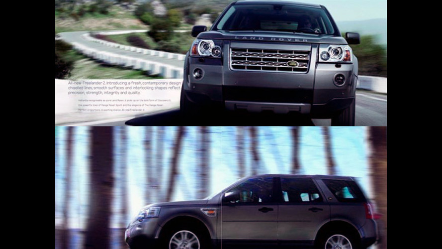 Ecco il nuovo Land Rover Freelander