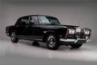 Buy Johnny Cash's Custom 1970 Rolls-Royce Silver Shadow