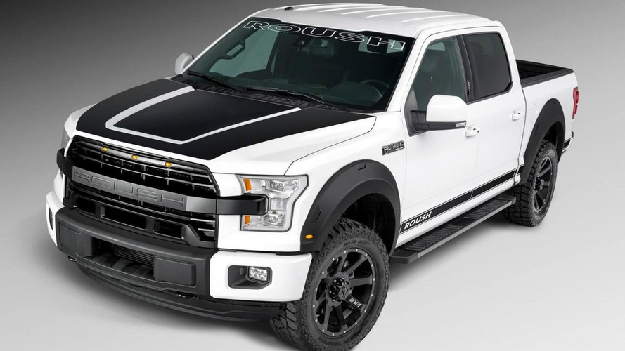 Roush unveils their rugged Ford F-150