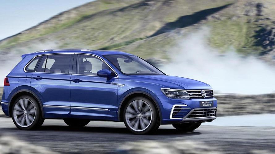 Volkswagen Tiguan GTE Konsept Fotoğrafları