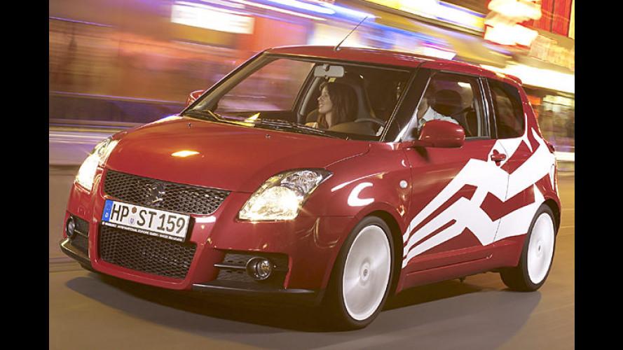 Da liegt Musik drin: Sondermodell Suzuki Swift Sport ,Beat