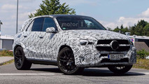 2020 Mercedes-Benz GLE 63 AMG Spy Photos