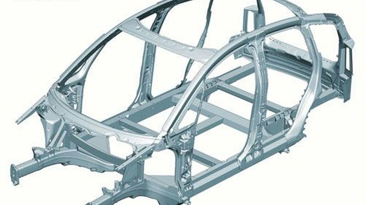 Audi A2 Aluminum Space Frame   Motor1.com Photos