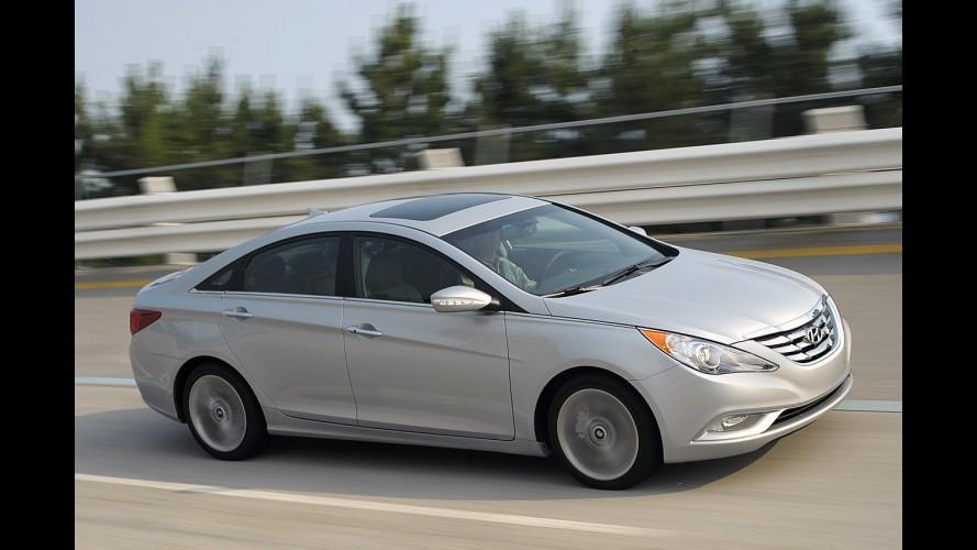 Hyundai deverá aumentar produção dos modelos Sonata e Elantra nos EUA