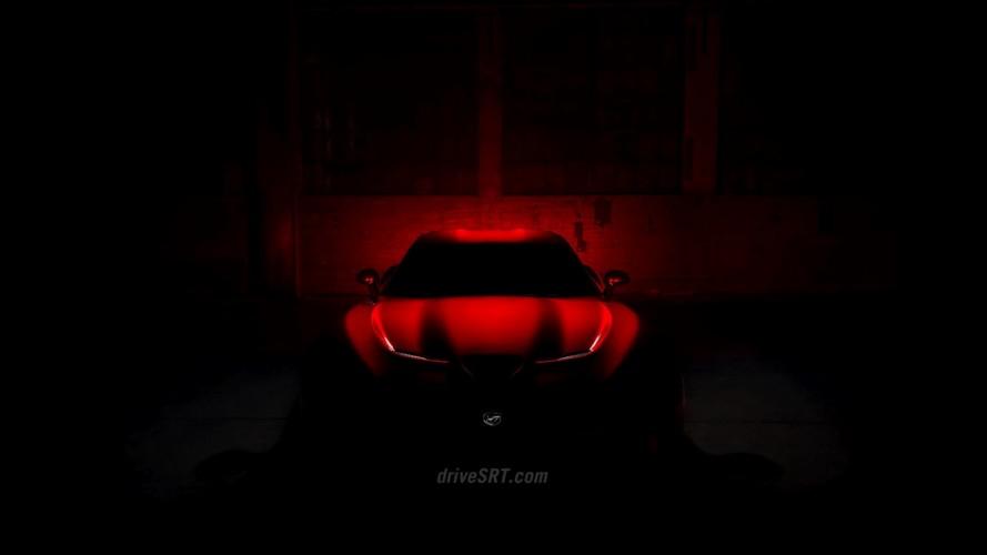 Salão de Nova York: SRT divulga mais um teaser do novo Viper 2013
